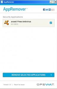 appRemover screenshot