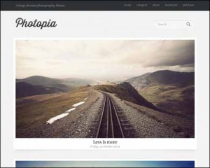 Photopia – Responsive Photography Theme free download