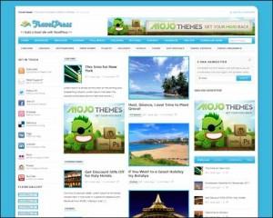 free wordpress theme travel